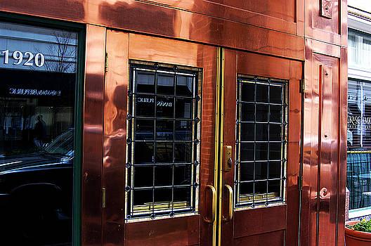 Metallic Store Fron by Clayton Bruster