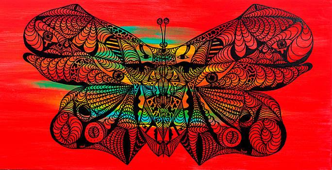 Metamorphosis of Life by Kenal Louis