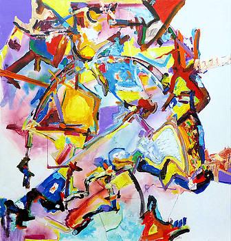 Metamorphosis On a Swing  by Rojo Chispas
