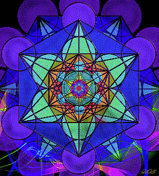 Metatron's Cube - Winter by Michele Avanti