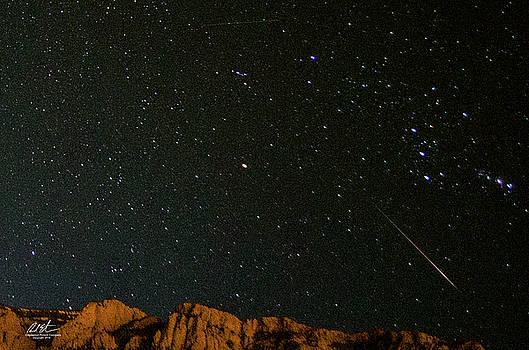 Meteor Over Sandia by Richard Estrada