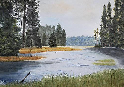 Metolius River Headwaters by Stanton Allaben