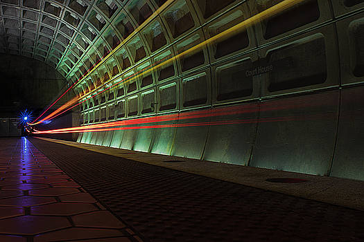 Metro Lights by Christopher Francis