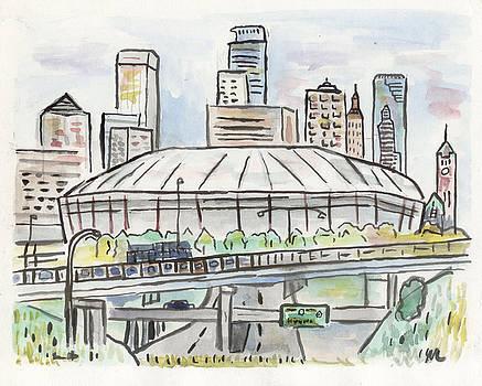 Metrodome by Matt Gaudian