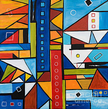 Metropolis by Art by Danielle