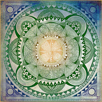 Metta mandala, Loving Kindness by Brenda Erickson