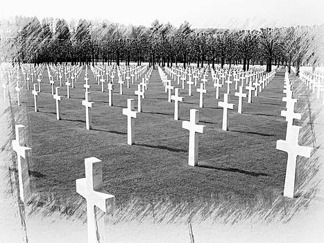 Meuse Argonne WWI American Memorial Cemetery by Joseph Hendrix