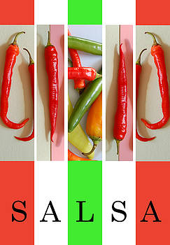Mexican Chilis and Salsa by George Olney