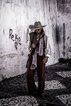 Mexican Cowboy  by Carolyn Marchetti