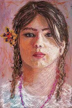 Mexican Girl by Eduardo Tavares