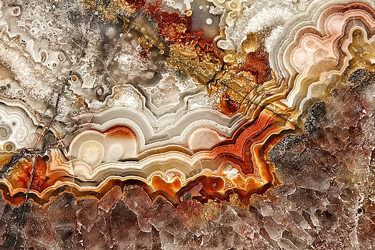 Mexican Lace Agate by Dee Johnson