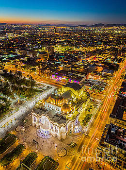 Mexico City Twilight by Inge Johnsson