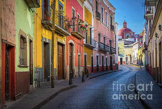 Mexico Street by Inge Johnsson