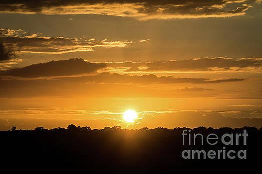 Mexico Sunset by Dave Matchett