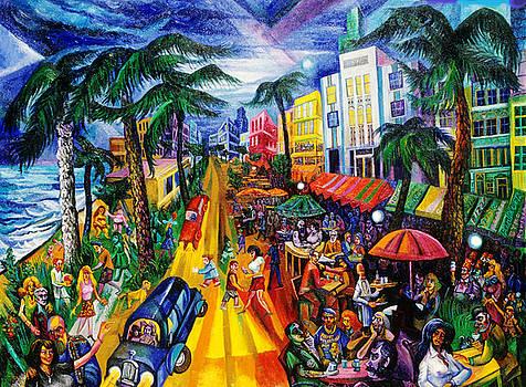 Ari Roussimoff - Miami Beach Cafe Life