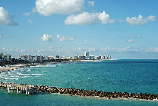 Miami Beach Florida by Robert Rodda