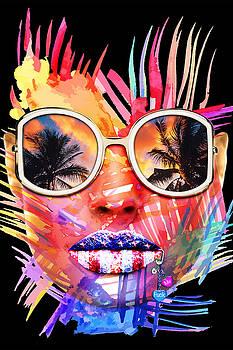 Miami Bitch Black by JanRafael