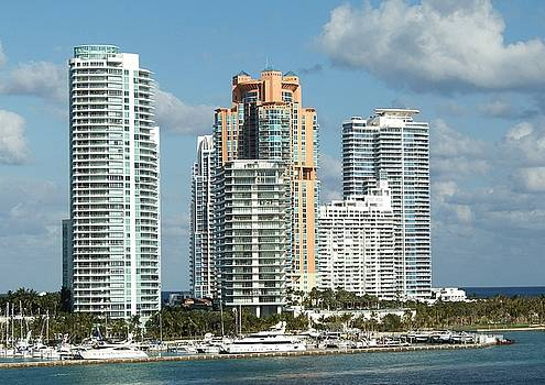 Miami Florida by Robert Rodda