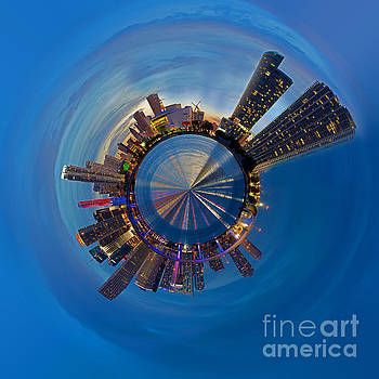 Miami Panoplanet by Corne Van Oosterhout