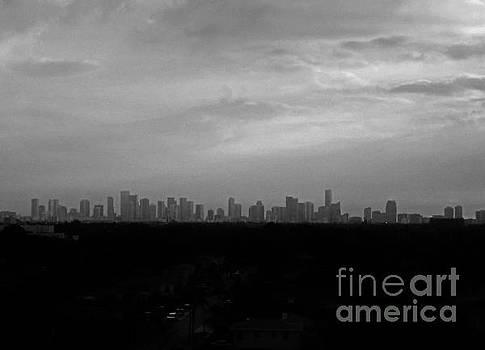 Miami Skyline by Keri West