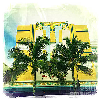 Miami South Beach Ocean Drive by Nina Prommer