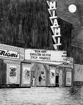 Miami Theater, 1959 by Ron Enderland