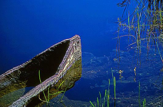 Miccosukee Boat by Bob Whitt