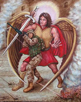 Michaek Protecting Aaron by Rebecca Steelman