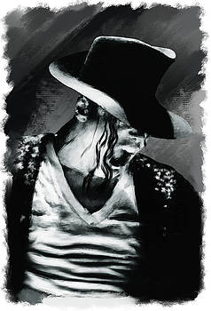 Michael Jackson on stage by Brian Tones