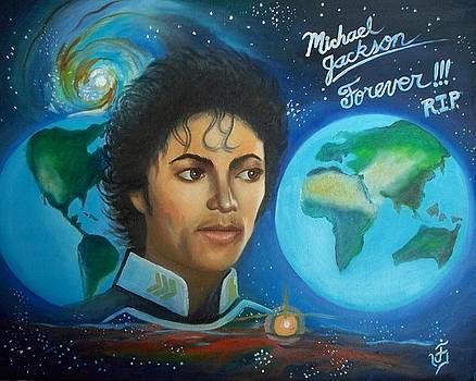 Michael Jackson Portrait. by Jose Velasquez