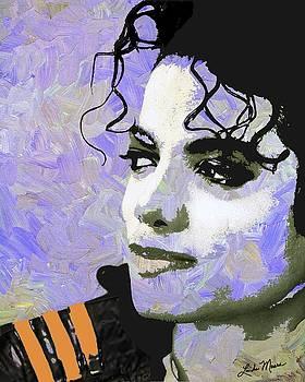 Linda Mears - Michael Jackson purple