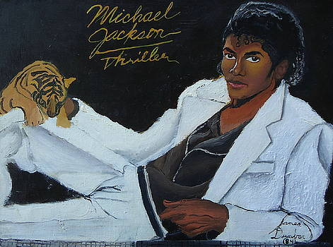 Michael Jackson Thriller 1 by Portland Art Creations