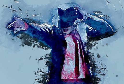 Michael Jacson by Marvin Blaine