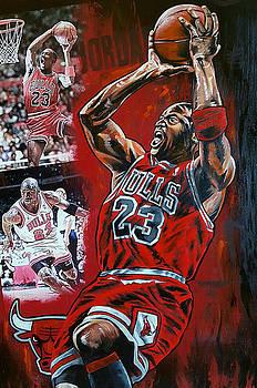Michael Jordan  by Joshua Jacobs