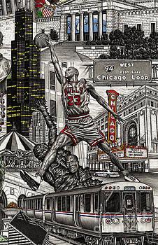Michael Jordan  by Omoro Rahim