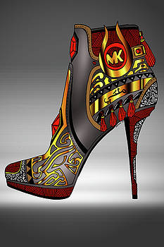 Michael Kors Shoe Illustration No. 2 by Kenal Louis