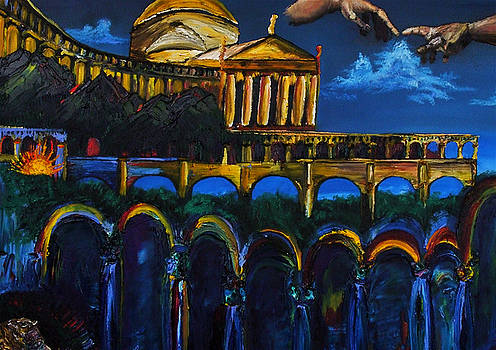 Michaelangelo Arches Vatican by Gregory Allen Page