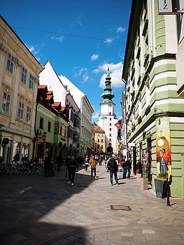 Michalska Street by Rae Tucker
