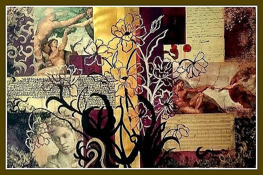 Michelangelo Collage by Patricia Rachidi