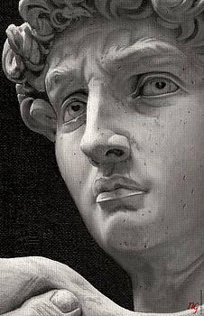 Michelangelo's David by Neil Godding