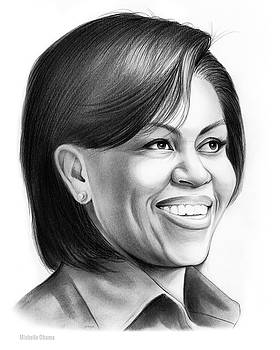 Michelle Obama by Greg Joens
