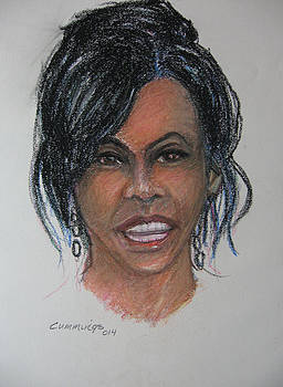 Michelle Obama by John Cummings