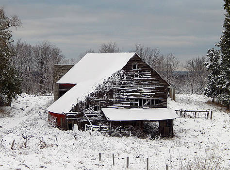 Michigan Barn by Patrick Murphy