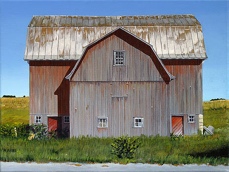 Michigan Barn Two by Michael Ward