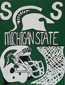 Michigan state Spartans by Jonathon Hansen