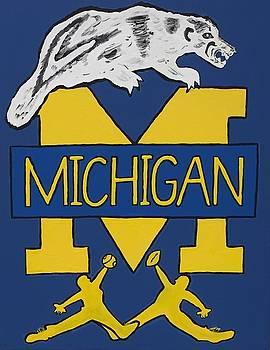 Michigan Wolverines by Jonathon Hansen