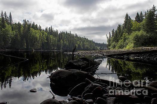 Michipicoten Canoe Route by Marj Dubeau