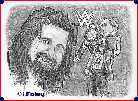 Mick Foley by Chris  DelVecchio