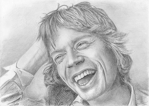 Mick Jagger by Bitten Kari