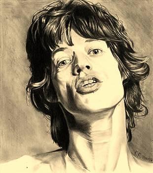 Mick Jagger by Kohdai Kitano